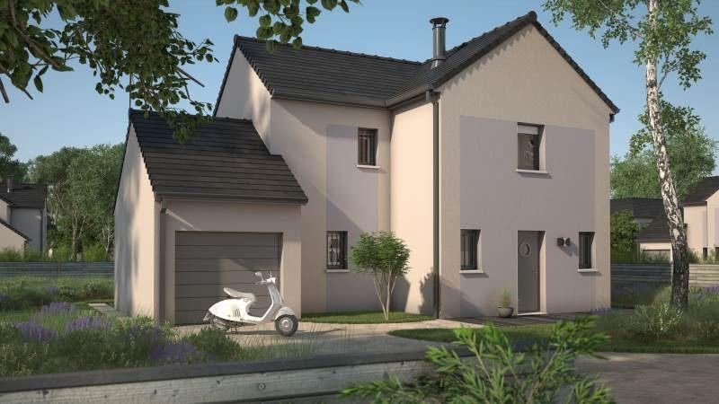Maisons + Terrains du constructeur MAISONS FRANCE CONFORT • 90 m² • BERCHERES SAINT GERMAIN