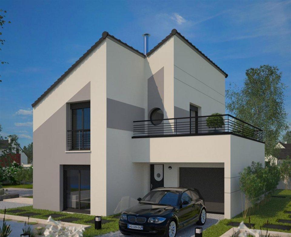 Maisons + Terrains du constructeur MAISONS FRANCE CONFORT • 100 m² • CHARTRES