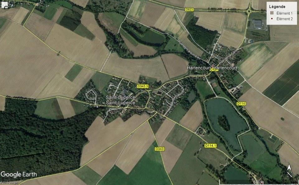 Terrains du constructeur MAISONS FRANCE CONFORT • 688 m² • SAINT LUPERCE