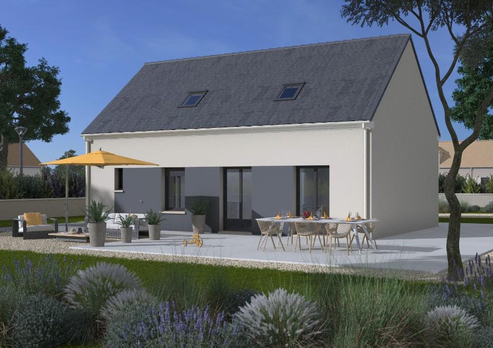 Maisons + Terrains du constructeur MAISONS FRANCE CONFORT • 80 m² • MAISONS