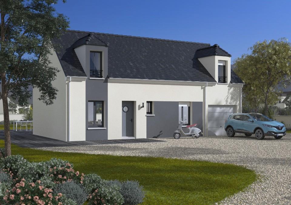 Maisons + Terrains du constructeur MAISONS FRANCE CONFORT • 90 m² • GELLAINVILLE