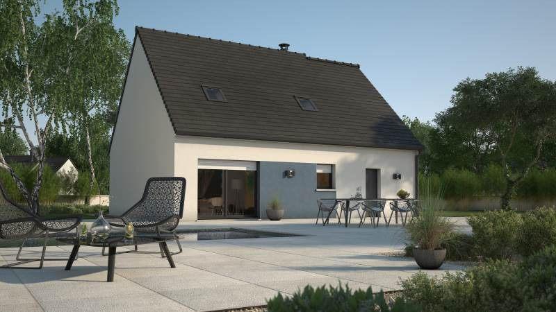 Maisons + Terrains du constructeur MAISONS FRANCE CONFORT • 89 m² • GELLAINVILLE