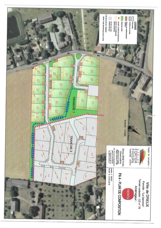 Terrains du constructeur MAISONS FRANCE CONFORT • 6610 m² • DREUX