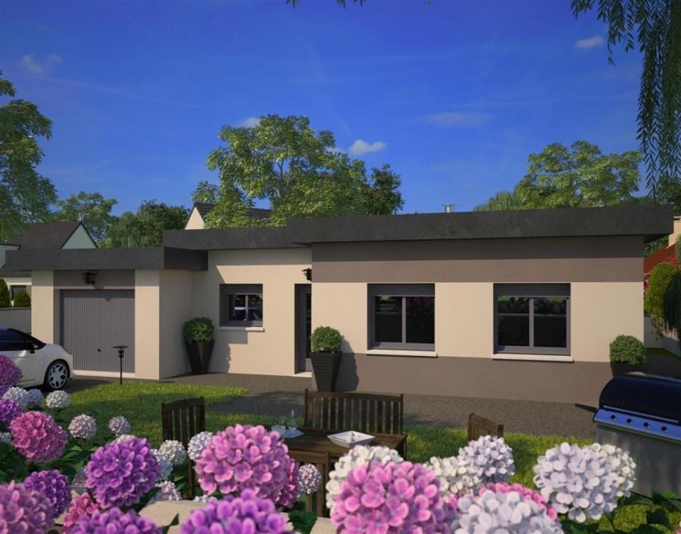 Maisons + Terrains du constructeur MAISONS FRANCE CONFORT • 92 m² • DREUX