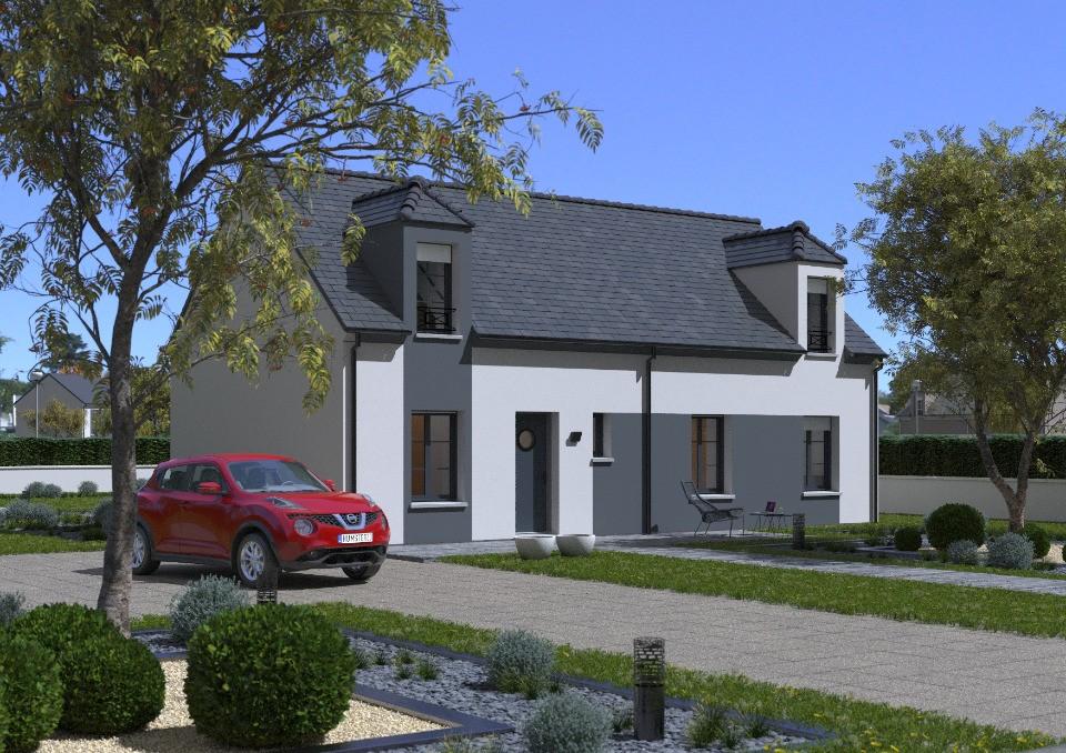 Maisons + Terrains du constructeur Maisons France Confort • 105 m² • ABONDANT