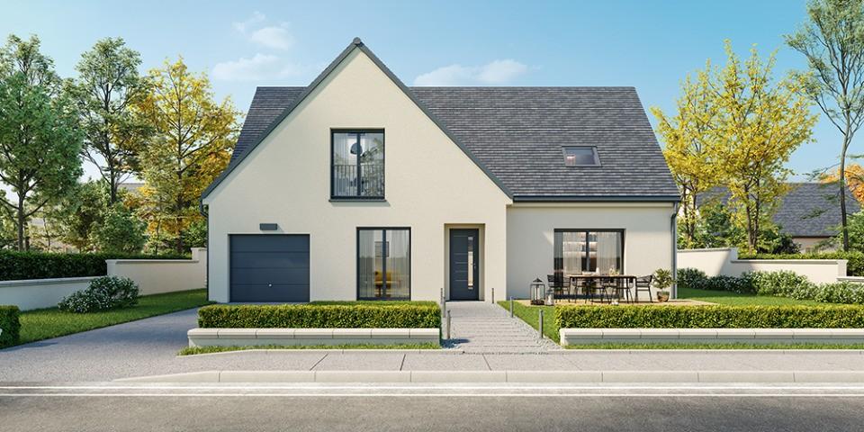 Maisons + Terrains du constructeur Maisons France Confort • 150 m² • LA QUEUE LES YVELINES