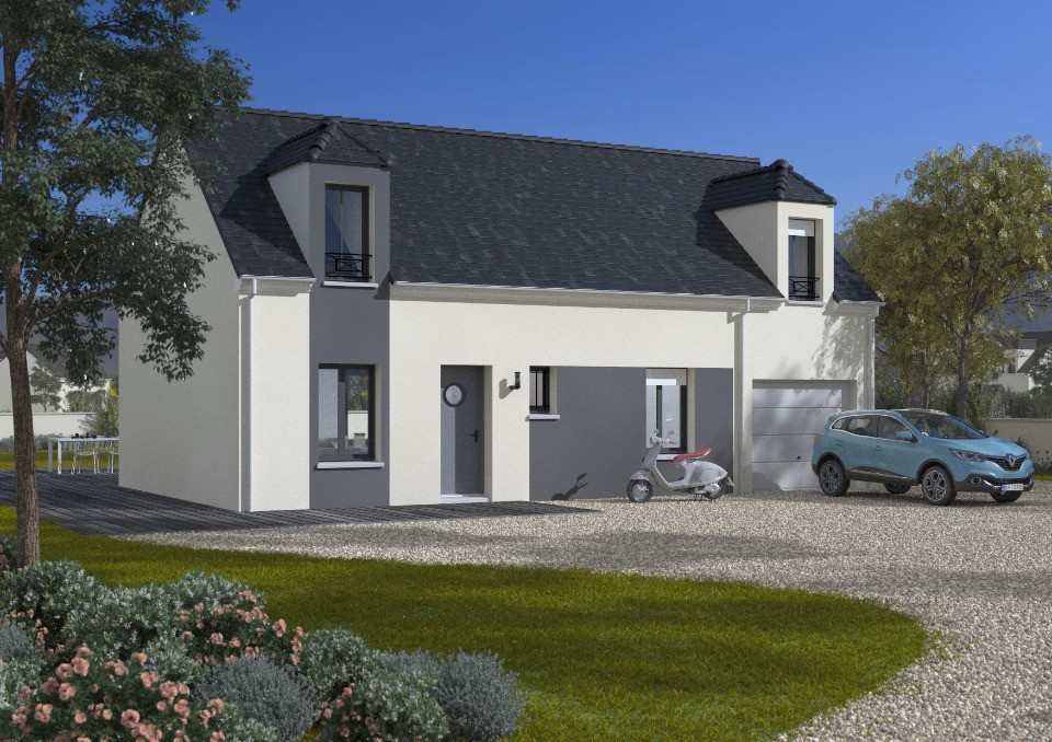Maisons + Terrains du constructeur Maisons France Confort • 90 m² • LA QUEUE LES YVELINES