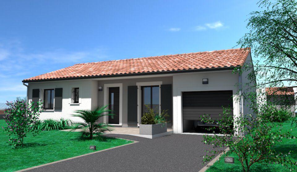 Maisons + Terrains du constructeur OC RESIDENCES • 72 m² • SAINT JUERY