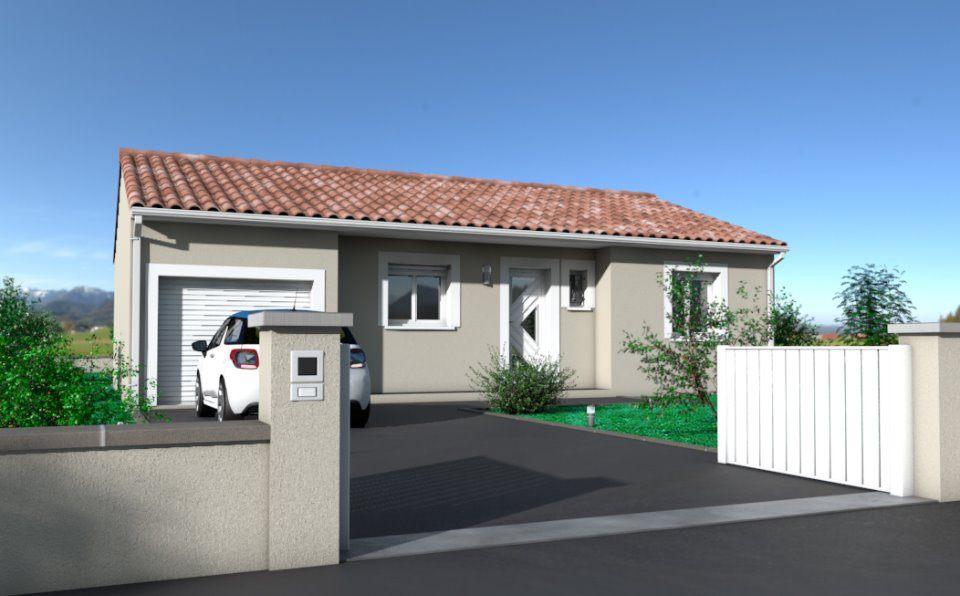 Maisons + Terrains du constructeur OC RESIDENCES • 80 m² • LESCURE D'ALBIGEOIS