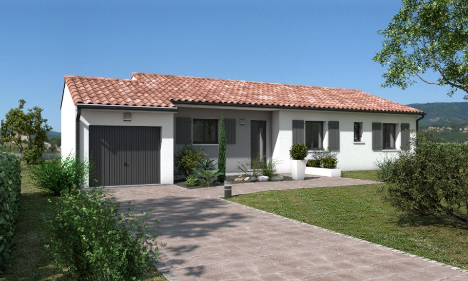 Maisons + Terrains du constructeur OC RESIDENCES • 79 m² • LESCURE D'ALBIGEOIS