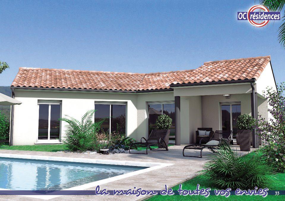 Maisons + Terrains du constructeur OC RESIDENCES • 96 m² • LESCURE D'ALBIGEOIS