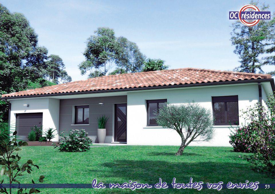 Maisons + Terrains du constructeur OC RESIDENCES • 90 m² • LESCURE D'ALBIGEOIS