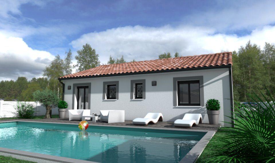 Maisons + Terrains du constructeur OC RESIDENCES - ALBI • 67 m² • LESCURE D'ALBIGEOIS