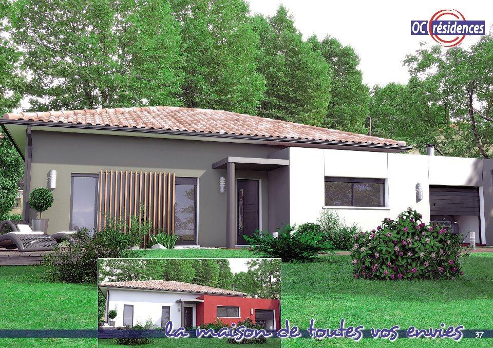 Maisons + Terrains du constructeur OC RESIDENCES - ALBI • 115 m² • LESCURE D'ALBIGEOIS