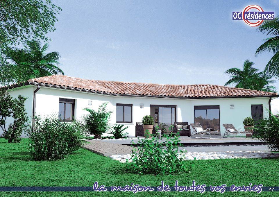 Maisons + Terrains du constructeur OC RESIDENCES - ALBI • 121 m² • FREJAIROLLES