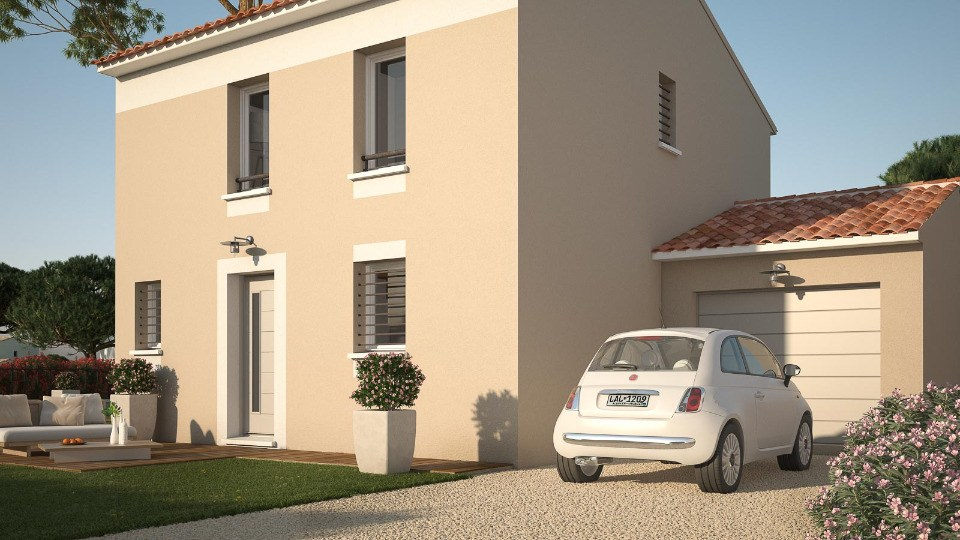 Maisons + Terrains du constructeur MAISONS FRANCE CONFORT • 78 m² • BAGNOLS SUR CEZE