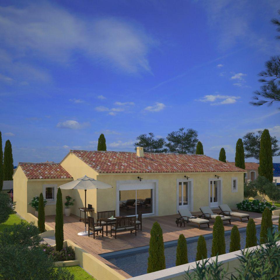 Maisons + Terrains du constructeur MAISONS FRANCE CONFORT • 73 m² • BAGNOLS SUR CEZE