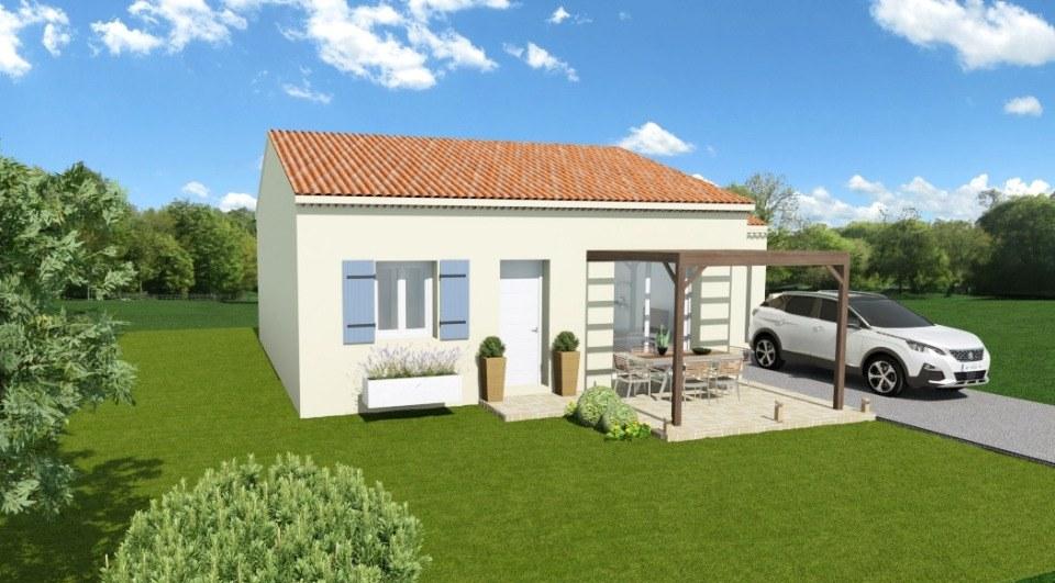 Maisons + Terrains du constructeur MAISONS FRANCE CONFORT • 60 m² • SALAZAC