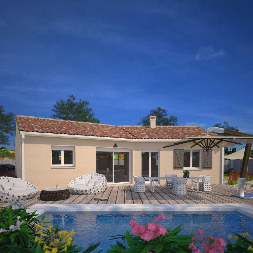 Maisons + Terrains du constructeur MAISONS FRANCE CONFORT • 96 m² • SAINT PRIVAT DE CHAMPCLOS