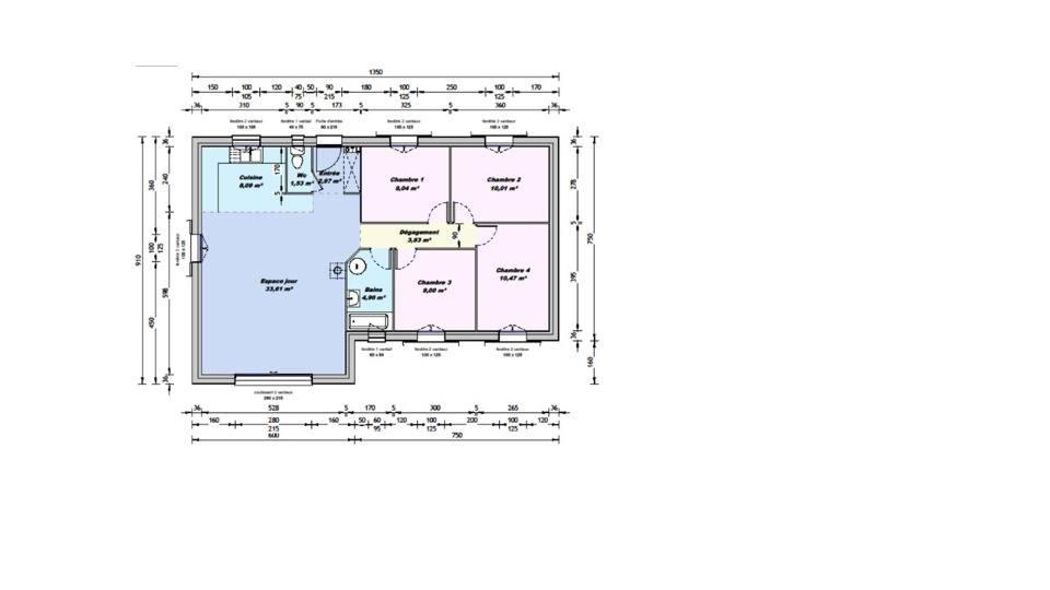 Maisons + Terrains du constructeur MAISONS FRANCE CONFORT • 93 m² • AIGUEZE