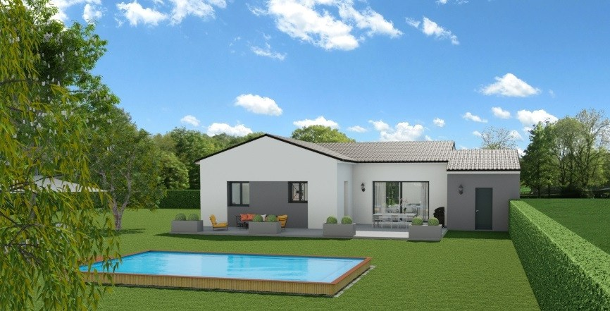 Maisons + Terrains du constructeur MAISONS FRANCE CONFORT • 90 m² • SAINT ANDRE D'OLERARGUES