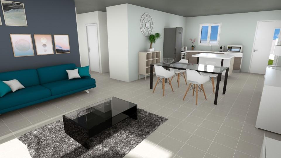 Maisons + Terrains du constructeur MAISONS FRANCE CONFORT • 83 m² • LAUDUN