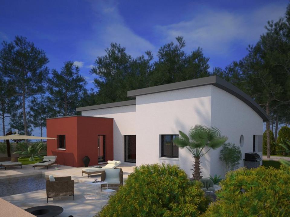 Maisons + Terrains du constructeur MAISONS FRANCE CONFORT • 105 m² • SAINT PRIVAT DE CHAMPCLOS
