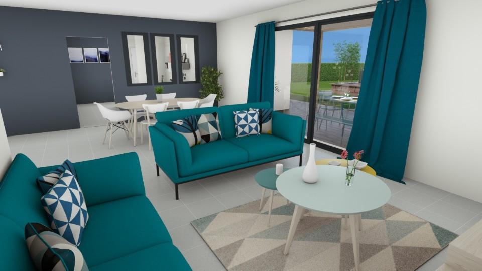 Maisons + Terrains du constructeur MAISONS FRANCE CONFORT • 115 m² • LAUDUN
