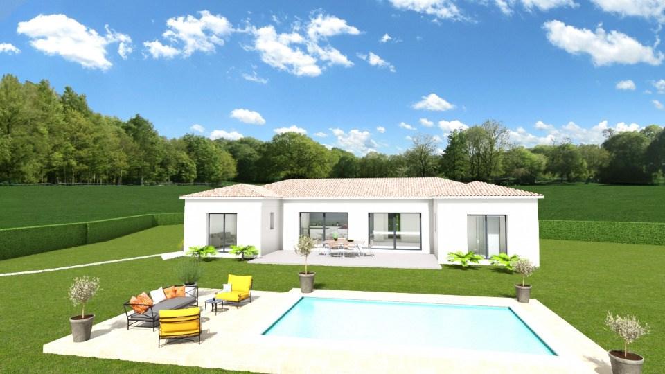 Maisons + Terrains du constructeur MAISONS FRANCE CONFORT • 115 m² • BAGNOLS SUR CEZE