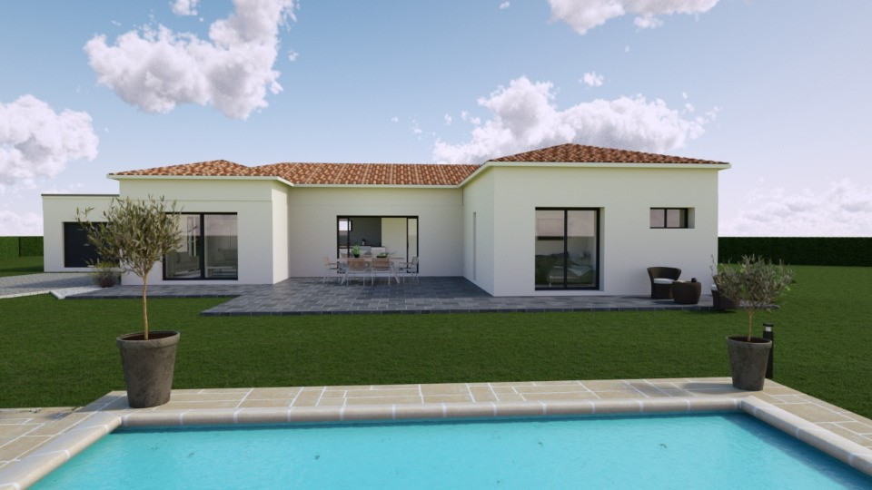Maisons + Terrains du constructeur MAISONS FRANCE CONFORT • 137 m² • GOUDARGUES