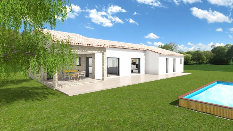 Maisons + Terrains du constructeur MAISONS FRANCE CONFORT • 123 m² • GOUDARGUES