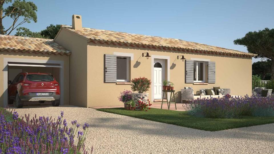 Maisons + Terrains du constructeur MAISONS FRANCE CONFORT • 90 m² • SAINT PONS LA CALM