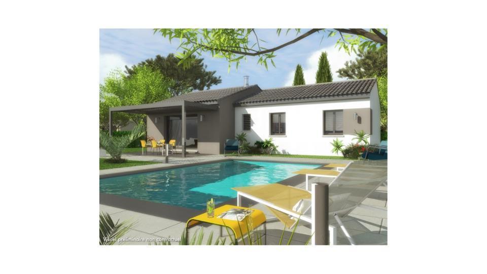 Maisons + Terrains du constructeur MAISONS FRANCE CONFORT • 93 m² • SAINT PONS LA CALM