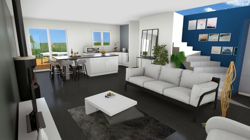 Maisons + Terrains du constructeur MAISONS FRANCE CONFORT • 88 m² • LAUDUN