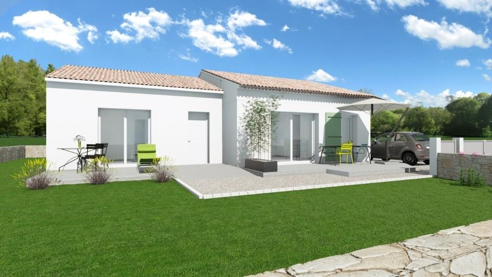 Maisons + Terrains du constructeur MAISONS FRANCE CONFORT • 93 m² • GAUJAC