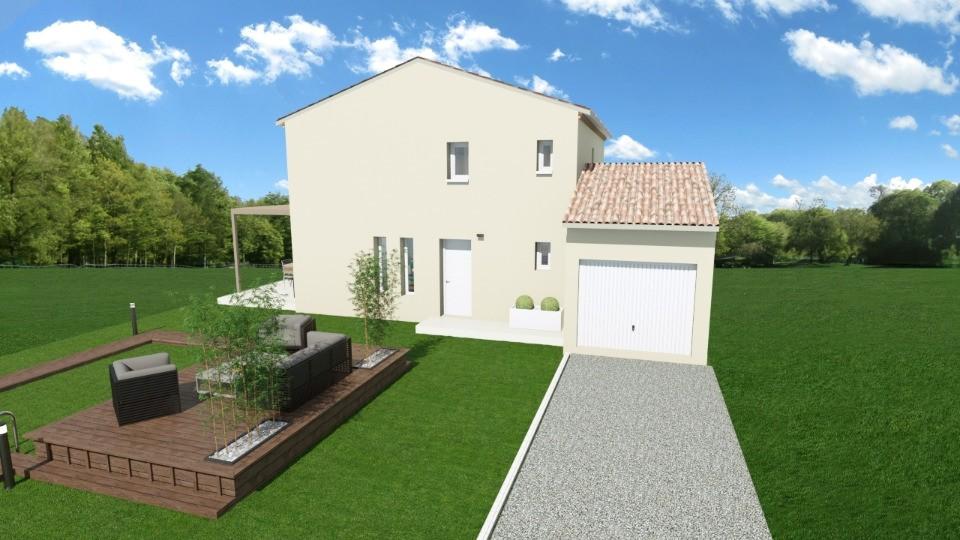 Maisons + Terrains du constructeur MAISONS FRANCE CONFORT • 110 m² • SANILHAC SAGRIES