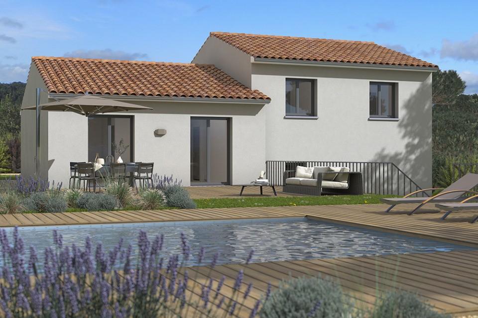 Maisons + Terrains du constructeur MAISONS FRANCE CONFORT • 110 m² • ARAMON