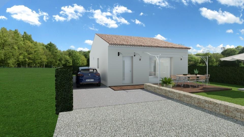 Maisons + Terrains du constructeur MAISONS FRANCE CONFORT • 73 m² • ORSAN