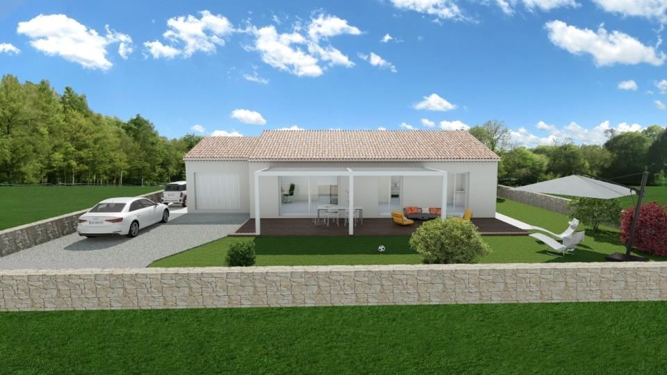 Maisons + Terrains du constructeur MAISONS FRANCE CONFORT • 90 m² • ORSAN