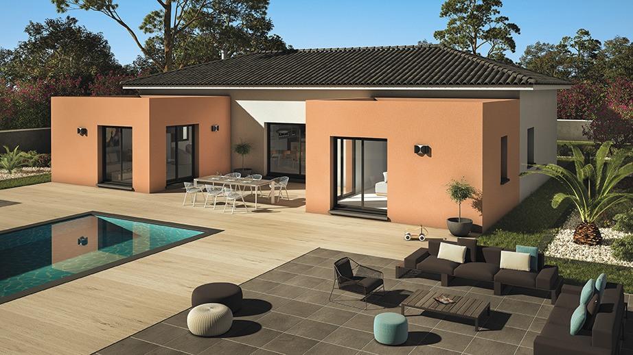 Maisons + Terrains du constructeur LES MAISONS DE MANON • 140 m² • MEZE