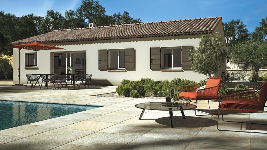 Maisons + Terrains du constructeur LES MAISONS DE MANON • 80 m² • MEZE