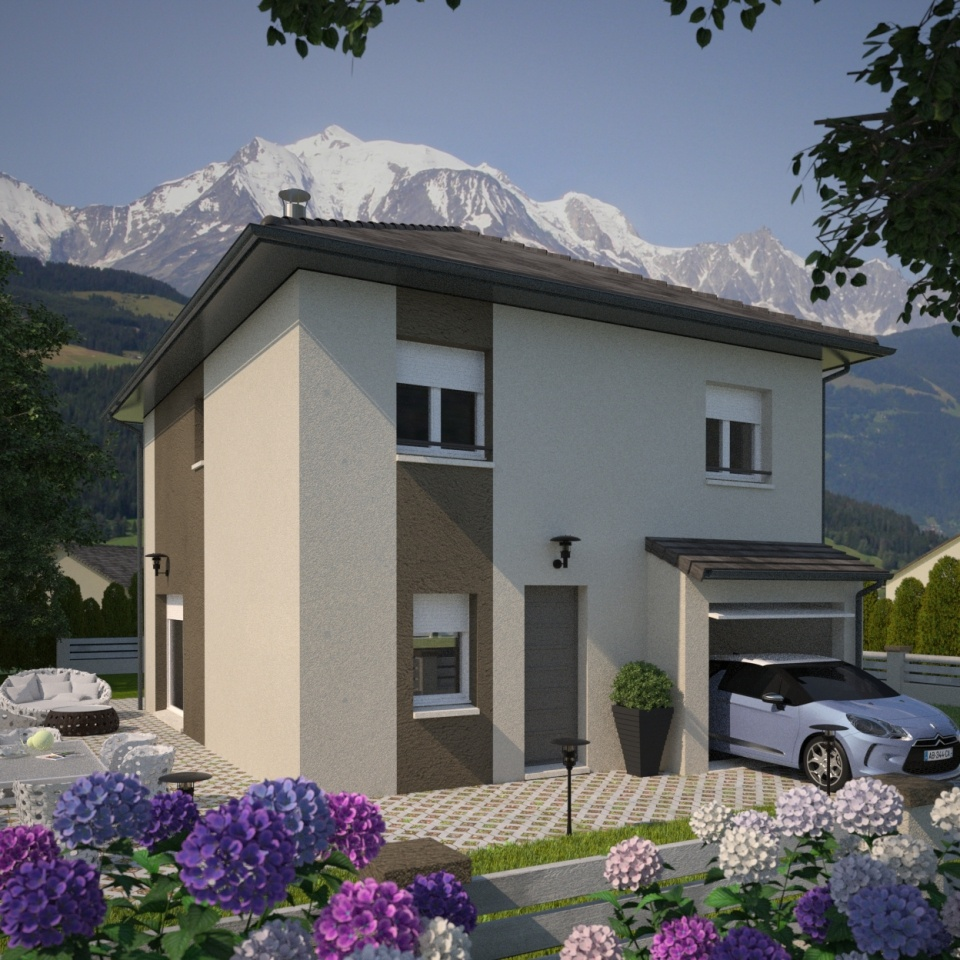 Maisons + Terrains du constructeur MAISONS FRANCE CONFORT • 80 m² • PONTCHARRA