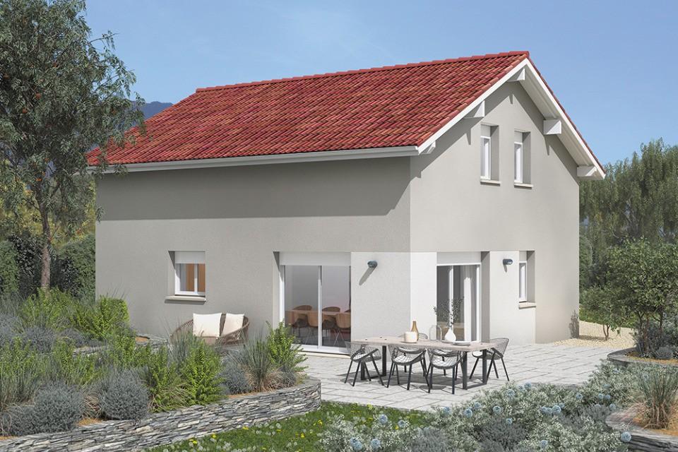Maisons + Terrains du constructeur MAISONS FRANCE CONFORT • 85 m² • PONTCHARRA