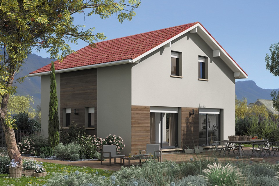Maisons + Terrains du constructeur MAISONS FRANCE CONFORT • 90 m² • HERBEYS