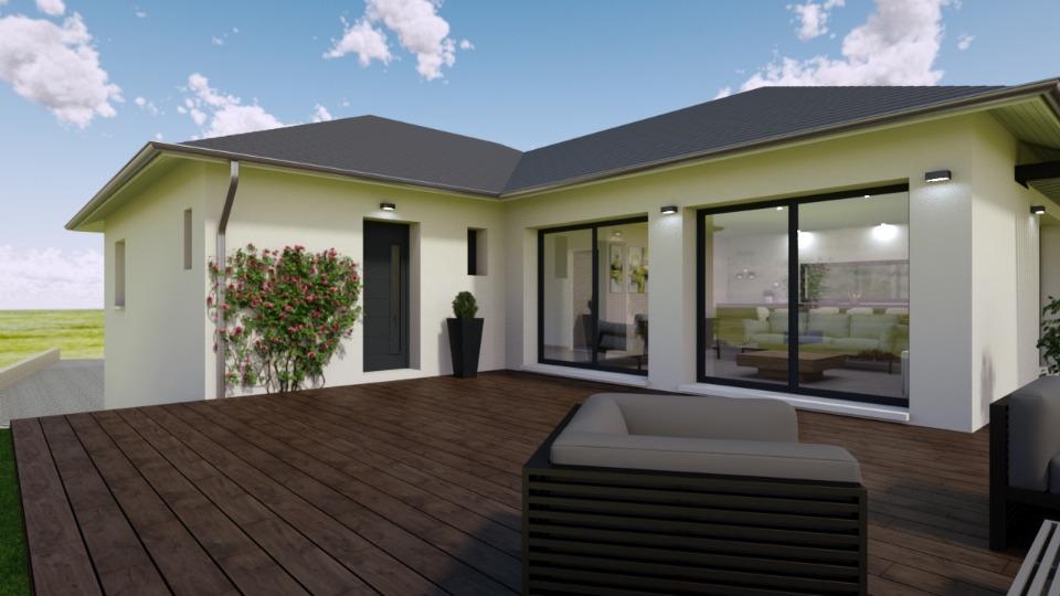 Maisons + Terrains du constructeur MAISONS FRANCE CONFORT • 117 m² • THEYS