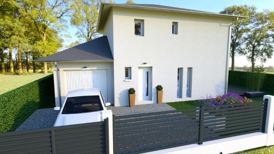 Maisons + Terrains du constructeur MAISONS FRANCE CONFORT • 95 m² • LA BUISSIERE