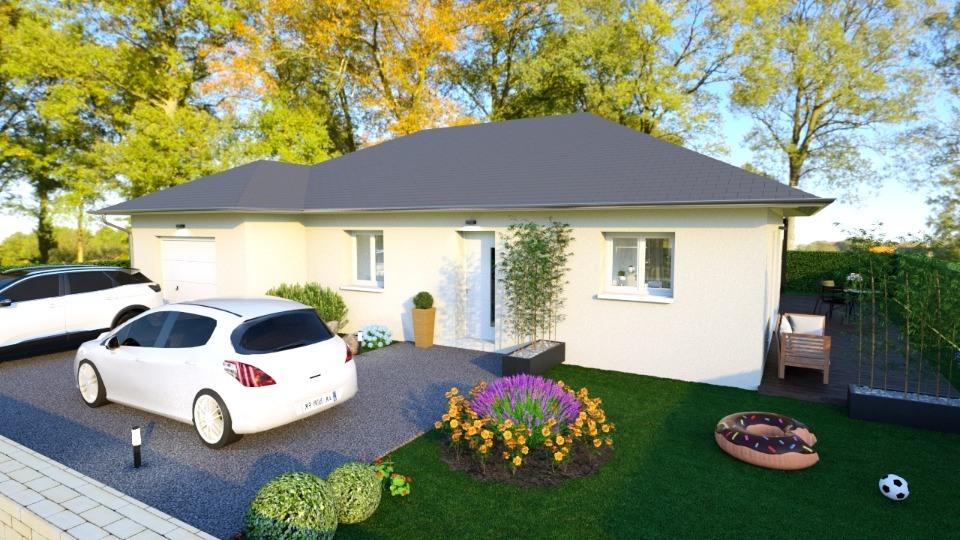 Maisons + Terrains du constructeur MAISONS FRANCE CONFORT • 90 m² • LA BUISSIERE
