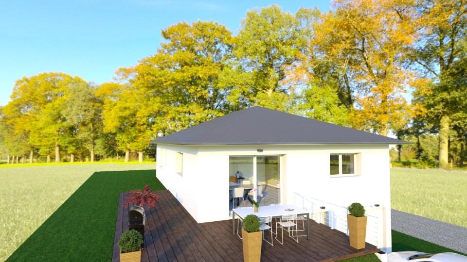 Maisons + Terrains du constructeur MAISONS FRANCE CONFORT • 111 m² • LE TOUVET