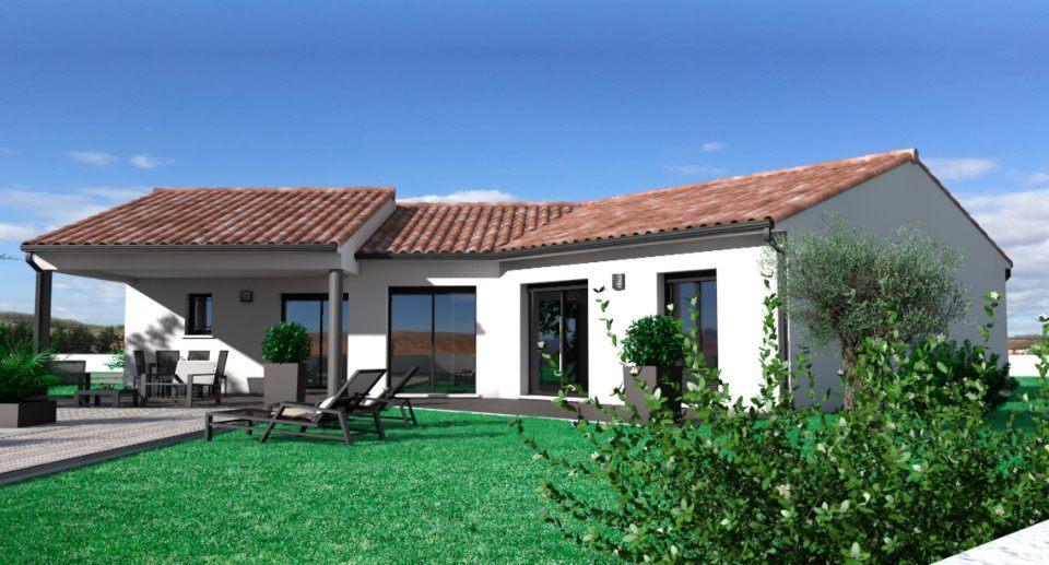 Maisons + Terrains du constructeur OC RESIDENCES • 110 m² • PUYLAURENS
