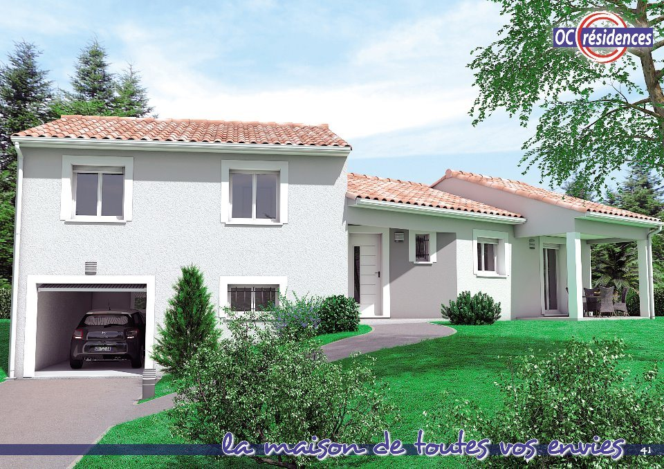 Maisons + Terrains du constructeur OC RESIDENCES • 97 m² • PUYLAURENS